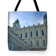 Manti Temple North Tote Bag