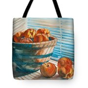 Many Blind Peaches Tote Bag