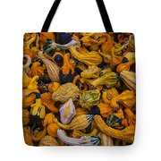 Many Colorful Gourds Tote Bag