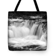 Many Falls - Bw Tote Bag