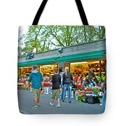 Many Flower Shops In Tallinn-estonia Tote Bag