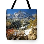 Many Glacier Colors Tote Bag