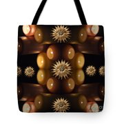 Many Lit Candles Tote Bag