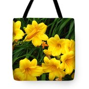 Many Summer Lillies Tote Bag