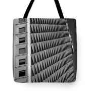 Many Windows In Black And White Tote Bag