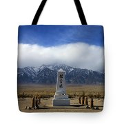 Manzanar National Historic Site Tote Bag