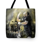 Maori Haka Tote Bag by Miki De Goodaboom