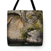 Maori Rock Art Tote Bag