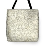 Map Of Bombay Presidency And Goa Tote Bag