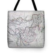 Map Of China And Japan Tote Bag
