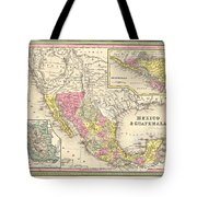 Map Of Mexico Tote Bag by Gary Grayson