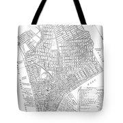 Map Of New York City, 1803 Tote Bag