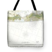 Map Of Suffolk County Southern Long Island New York Tote Bag