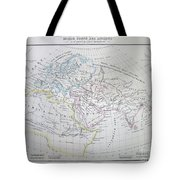Map Of The World According To The Ancients Tote Bag