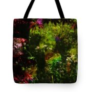 Maple Leaves And Daisys Tote Bag