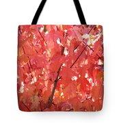 Maple Madder Tote Bag
