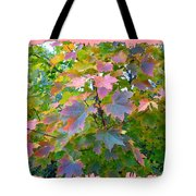 Maple Magnetism Painting Tote Bag