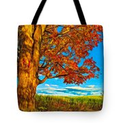 Maple Moon - Paint Tote Bag