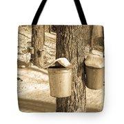 Maple Sap Buckets Tote Bag