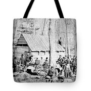 Maple Sugar Party, C1900 Tote Bag
