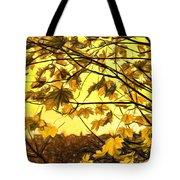 Maple Sunset - Paint Tote Bag