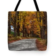 Maple Tree Road Tote Bag