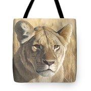 Mara Lioness Tote Bag