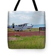 Mara Serena Air Strip Tote Bag