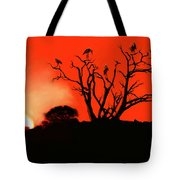 Marabou Tree Tote Bag