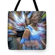 Marathon Abstract 2 Tote Bag