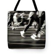 Marathon, Nyc, New York City, New York Tote Bag