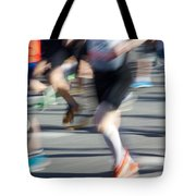 Marathon Runners Tote Bag
