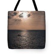 Marathon Sunset Tote Bag