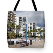 Marbella Apartment Buildings Tote Bag