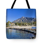 Marbella Holiday Resort In Spain Tote Bag