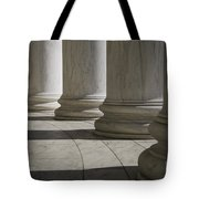 Marble Columns Of Thomas Jefferson Memorial Tote Bag