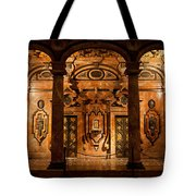 Marble Decor In The Sevilla Cathedral Tote Bag