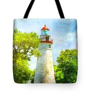 Marble Headlight Tote Bag