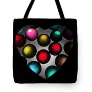 Marble Heart Tote Bag