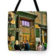 Marble Of Many Colors In Saint Sophia's In Istanbul-turkey Tote Bag