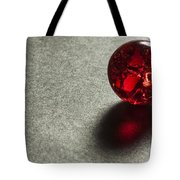 Marble Red Crackle 1 Tote Bag