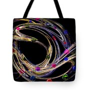 Marble Shooter Tote Bag