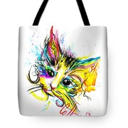 Marble The Cat Tote Bag