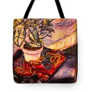 Marble Twirl Tote Bag