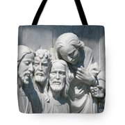 Marble Work Tote Bag