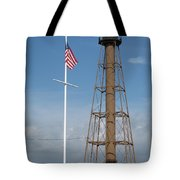 Marblehead Light Tower Tote Bag