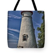 Marblehead Lighthouse Lake Erie Tote Bag