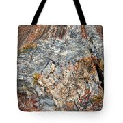 Marbleized Wood Tote Bag