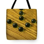 Marbles Arrow Green 1 Tote Bag