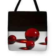 Marbles Red 1 B Tote Bag